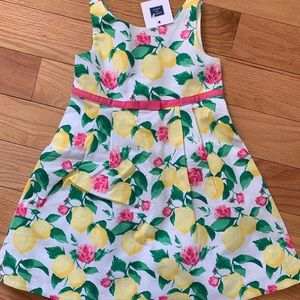 Janie & Jack lemon dress